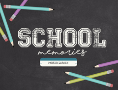 Back to School Slideshow Template