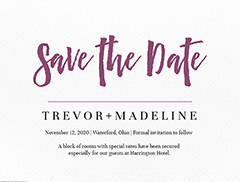 Save the Date Templates