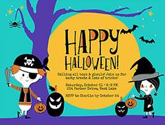 Free Halloween Invitation