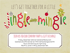Christmas Party Flyers Customize Free Christmas Flyer