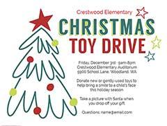 Christmas Fundraiser Flyer.Christmas Flyers Customize Free Christmas Flyer Templates