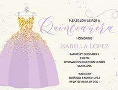 sweet 16 birthday princess invitation