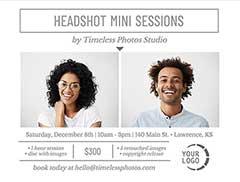 Mini Session Flyer