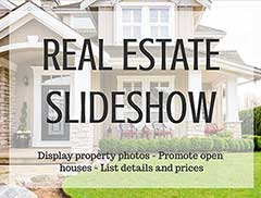 Real Estate Photo Slideshow