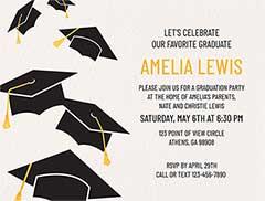 Online Graduation Invitations Create
