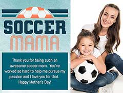 Soccer Mom Greeting Card