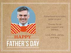Classy Father's Day eCard