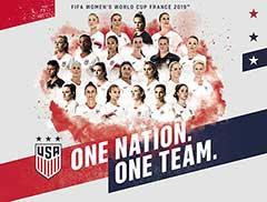 US Soccer National Team Card