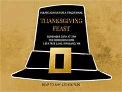 Online Thanksgiving Invitation