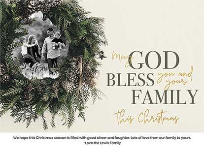 Religious Christmas Cards Design Inspiring Christian Cards