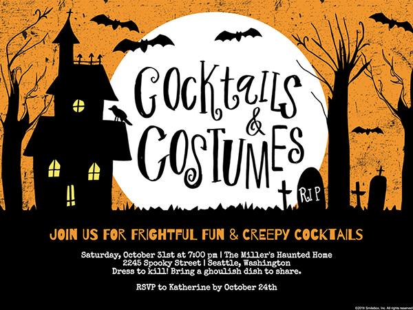 Free Printable Halloween Birthday Party Invitations.Create Free Halloween Invitations Online It S A Treat